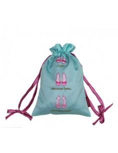 Satin Shoe Bag
