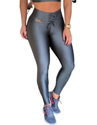 Leggings da ballo /sport in grigio