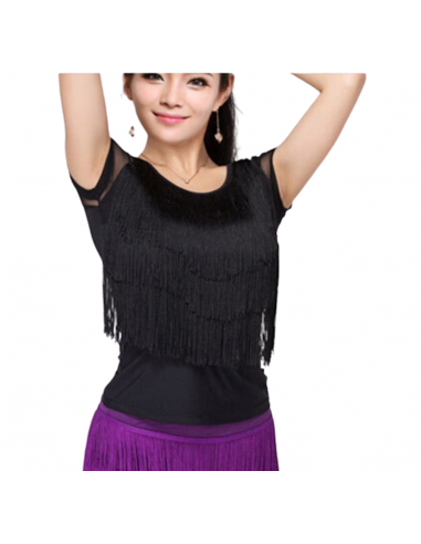 Fringe dance top