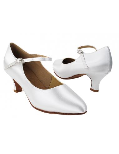 Chaussures de danse Alma blanche