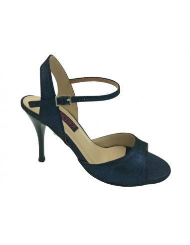 Chaussures de tango Zoe bleu foncé
