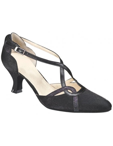 Ladies closed toe dance shoe 3741