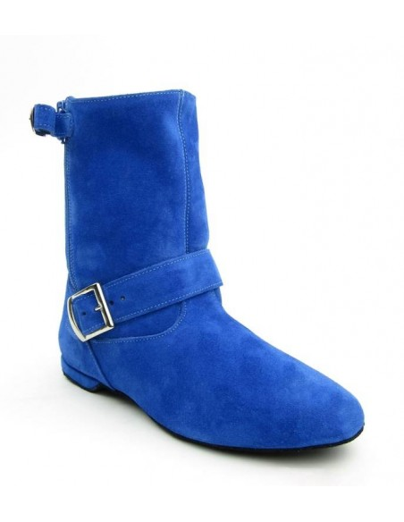 West Coast Swing Ankle Boot in blue