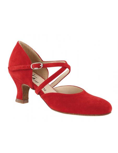 Ladies closed toe shoe 3855