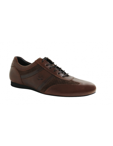 TT Mens dance sneaker brown