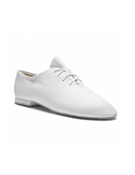 Jazz dance shoe 01F white