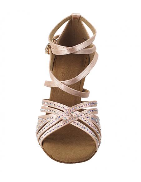 Chaussure de danse strass S1006CC