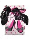 Luxueux sac à chaussures en satin