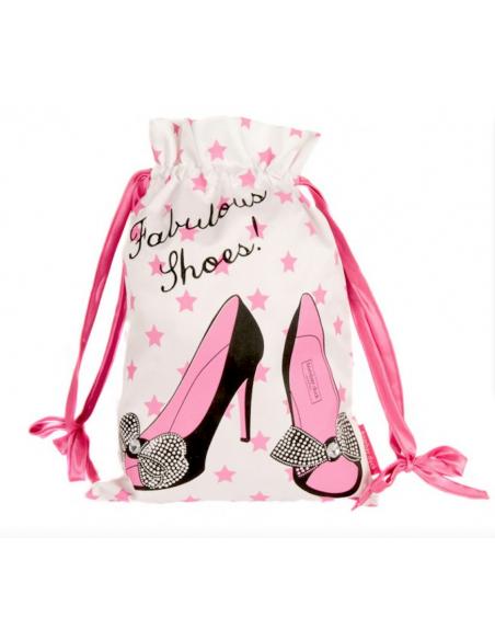 Luxury satin shoe bag for dance shoes