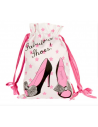 Luxury satin shoe bag for dance shoes