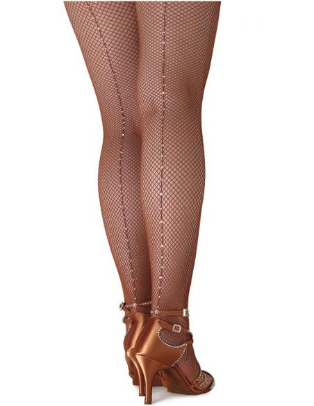 Calze elastiche con strass