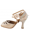 Ladies crystal dance shoe S1007CC