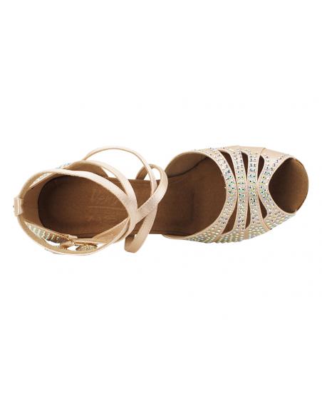 Ladies crystal dance shoe S1007CC