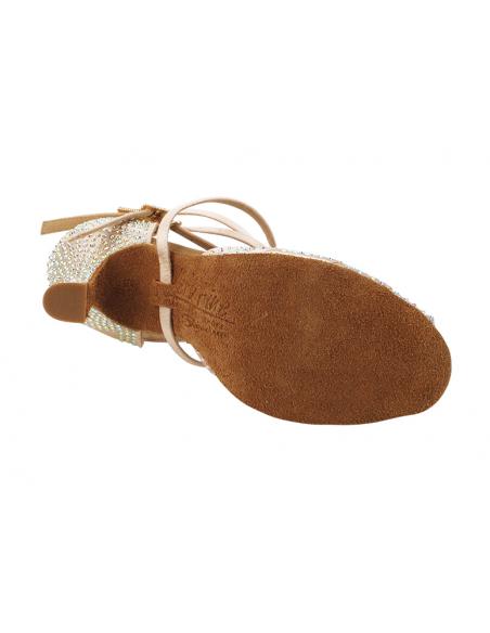 Chaussure de danse strass S1007CC