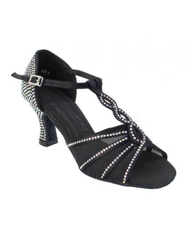 Ladies rhinestone dance shoe S1009CC