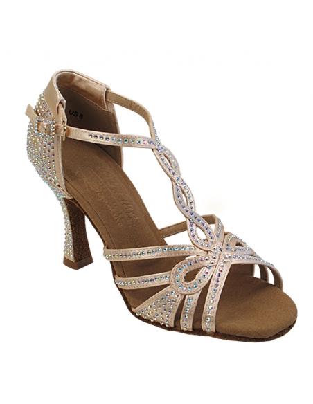 Chaussure de danse en strass S1008CC