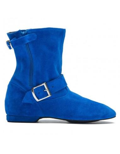 Westcoast Swing Ankle Boot in jeans blue