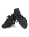 Ladies dance sneaker with heel 4040