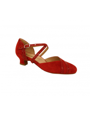 Damentanzschuh TT Detroit red