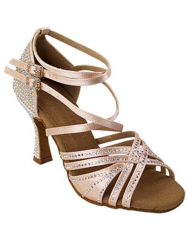 Ladies rhinestone dance shoe S1006CC