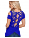 Lace dance top