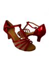 Tanzschuhe 1692 rot