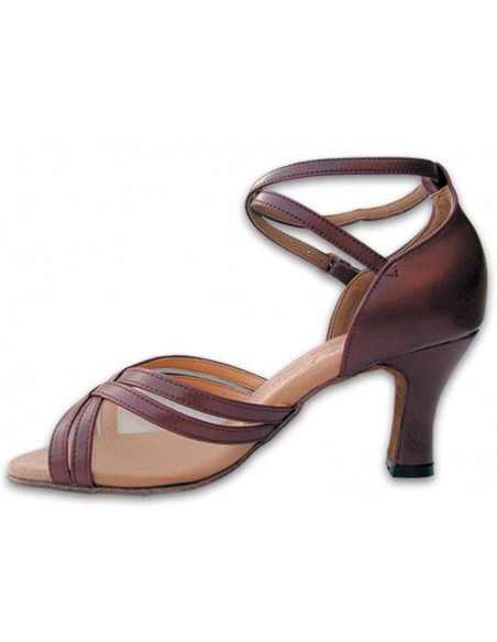 Chaussure de danse avec strass S1008CC