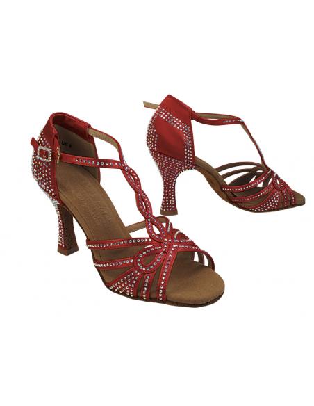 Ladies crystal dance shoe S1008CC